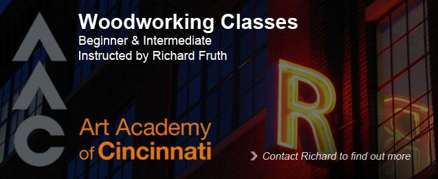 Beginner and Intermediate Woodworking Classes