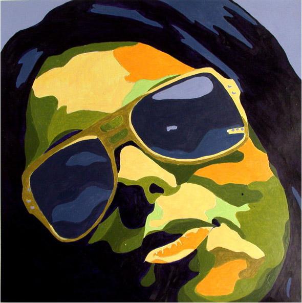 Self-Portrait Color Scheme Project