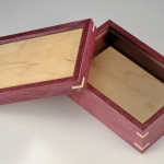 Purple Heart Flooring Box