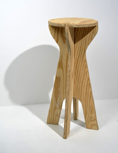 Plywood Bar Stool